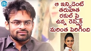 getlinkyoutube.com-After the Incident Respect On Rakul Increased - Sai Dharam Tej || Talking Movies With iDream