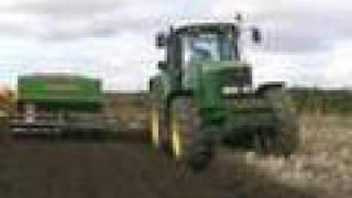 John Deere 6920 Ploughing & Drilling with Minimat