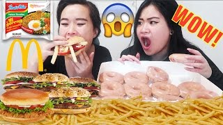 10K CALORIE CHALLENGE | MUKBANG | EATING SHOW