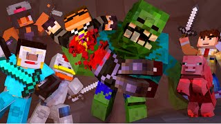 getlinkyoutube.com-Minecraft | YOUTUBER MUTANT CREATURES HUNGER GAMES! (Modded Hunger Games)