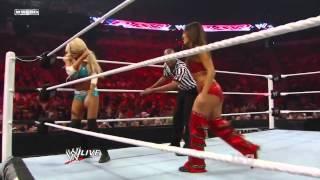 getlinkyoutube.com-WWE Raw 06/27/11 - Kelly Kelly vs. Nikki Bella - Divas Championship Submission Match