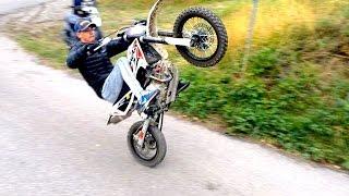 getlinkyoutube.com-Wheeling en DIRT BIKE ? Beta R 150