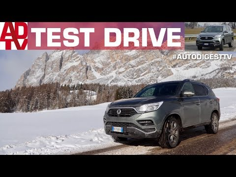 SSANGYONG REXTON MY 2018: TEST DRIVE OFFROAD & SNOW