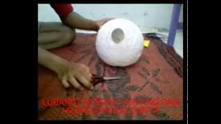 getlinkyoutube.com-Cara Membuat Lampion dari Balon dan Benang Dengan Mudah