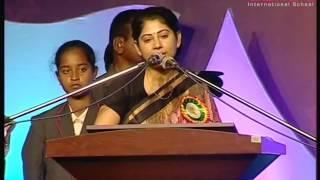 getlinkyoutube.com-Smt.Smitha Sabarwal IAS Full Speech At Akshara School 4th Annual Day Celebrations Hyderabad.