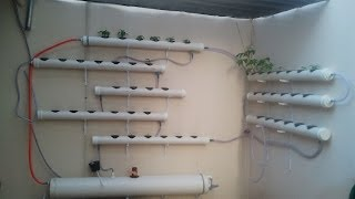 Horta Hidroponica autônoma movida a energia Solar
