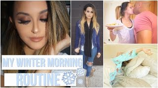 getlinkyoutube.com-Get Ready With Me: Winter Morning Routine