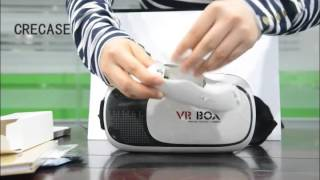 getlinkyoutube.com-2016 newest VR BOX 2nd generation Virtual Reality Glasses Unboxing Video(Coolest Gifts)