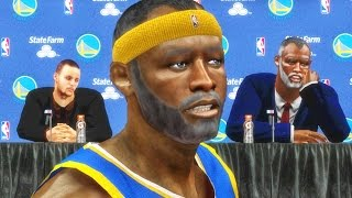 getlinkyoutube.com-GRANDPA DISSES CURRY DURING INTERVIEW! NBA 2k16 My Career Xbox 360 Gameplay Ep. 2