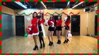 getlinkyoutube.com-[EXID(이엑스아이디)] 위아래 안무 연습 영상 X-mas ver