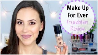 getlinkyoutube.com-NEW Make Up For Ever Ultra HD Foundation Review/Demo