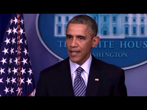Obama Stays Cool As America Rages At Ferguson Injustice