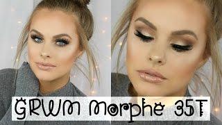 getlinkyoutube.com-Get Ready With Me | Morphe 35T