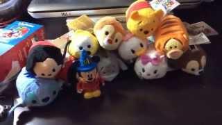 getlinkyoutube.com-Disney Tsum Tsum plush haul