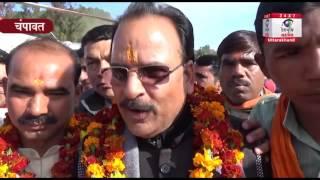 हार के डर से हरदा दो सीटों से लड़ रहे हैं : अजय भट्ट