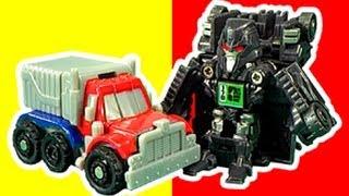 getlinkyoutube.com-Transformers Bot Shots Crash & Bash Battle Game Slowmo