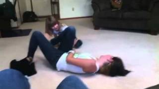 getlinkyoutube.com-Me and my brother and sister wrestling