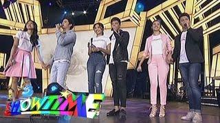 "getlinkyoutube.com-It's Showtime: KathNiel, LizQuen, JaDine ""Kailan/Sa Isang Sulyap/Buko"" on 'Showtime Kapamilya Day'"