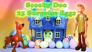 getlinkyoutube.com-SCOOBY DOO The Scooby Doo Spooky Surprise Eggs a Scooby Doo Surprise Egg Toys  Video