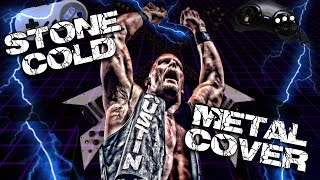 getlinkyoutube.com-Stone Cold Steve Austin Theme Song Metal Cover - WWE WWF