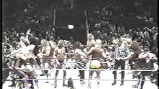 getlinkyoutube.com-WWF - 20 Man Battle Royal - February 23, 1992 @ MSG
