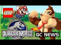 LEGO Jurassic World Wii U / 3DS News , Nintendo Creators Program Facts, Last Super Smash Bros. Game?