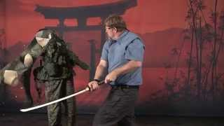 getlinkyoutube.com-Cold Steel - Warrior Series Japanese Swords
