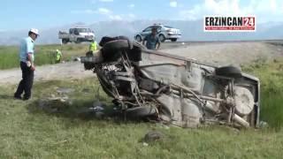 Erzincan'da Trafik Kazaları Zinciri: 1 Ölü, 5 Yaralı
