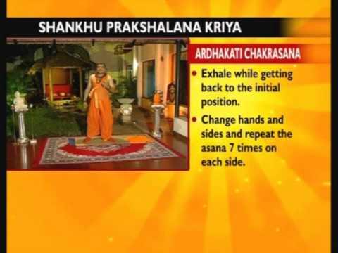 Yoga Shankh Prakshalana With Yogi Ashwini