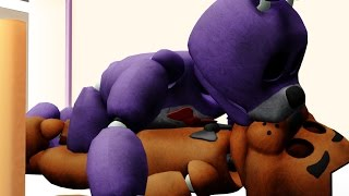getlinkyoutube.com-【MMD x FNAF】Bonnie kissing freddy when he sleep 【Fronnie】