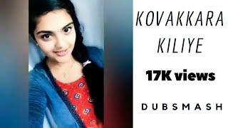 DubsMash Sema Cute   Kovakara kiliye  Movie Vel