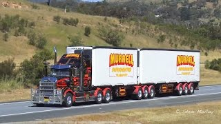 getlinkyoutube.com-Australian Trucks : Nth Bound on The Hume Highway Wed 28/10/15