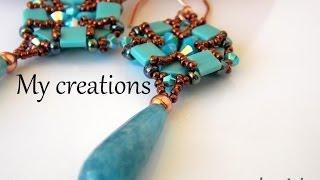 getlinkyoutube.com-Le mie creazioni:tessitura perline-soutache-uncinetto|My creations:weaving beads-soutache-crochet