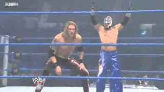 getlinkyoutube.com-WWE - Edge Rey Misterio VS Alberto del rio Kane