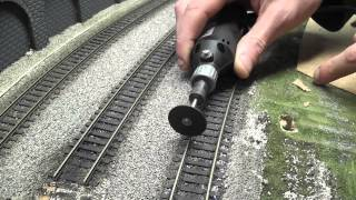 getlinkyoutube.com-Building a Model Railway - Part 3 - Track Laying