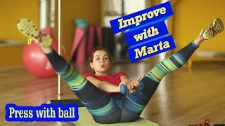 Press with ball - Improve with Mrta