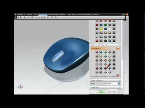 NX Modeling - Concept Design (Optical Mouse)
