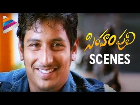 Jeeva trying to impress a woman - Simham Puli Movie Scenes - Santhanam, Divya Spandana, Honey Rose