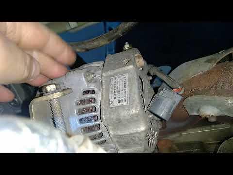Где находится ремень генератора у Лифан Х60