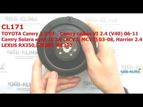 Шкив компрессора TOYOTA Camry 2,0-2,4/LEXUS RX 65498
