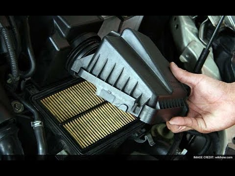 How to change an air filter on a 2015 Nissan Pathfinder