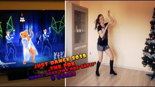 getlinkyoutube.com-Just Dance 2015 - The fox (What does the fox say?) 5 stars PL