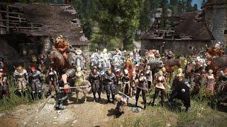 getlinkyoutube.com-Black Desert Online Final Test Guild vs Guild FFA