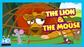"""getlinkyoutube.com-""""The Lion and The Mouse"""" Story 