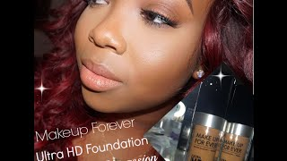 getlinkyoutube.com-Makeup Forever Ultra HD first impressions (all day wear with pics)