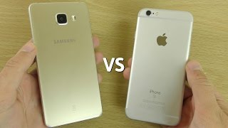 Samsung Galaxy A5 (2016) VS iPhone 6S - Speed & Camera Comparison!