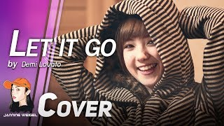 getlinkyoutube.com-Let It Go (OST.Frozen) - Demi Lovato cover by Jannine Weigel