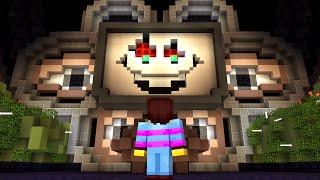OMEGA FLOWEY BOSS FIGHT! Undertale in Minecraft!