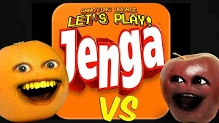getlinkyoutube.com-Annoying Orange - AO vs Midget Apple Plays: JENGA!