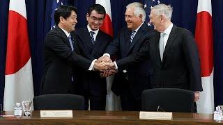Japón y Estados Unidos estrechan lazos contra Corea del Norte